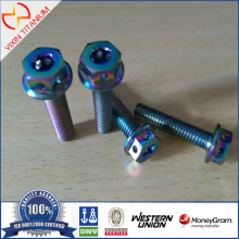 Titanium ISO 15072 Hexagon Bolt with Flange