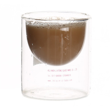 New Fashion Design for Double Wall Glass Coffee Cup Double Wall Glass Coffee Cup export to Marshall Islands Suppliers