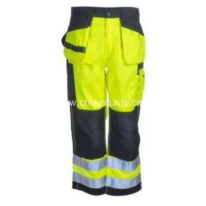 Men's High-Visibility Yellow Work Pants