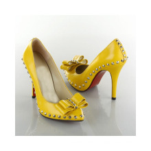 New Style High Heel Fashion Ladies Dress Shoes (HCY02-387)