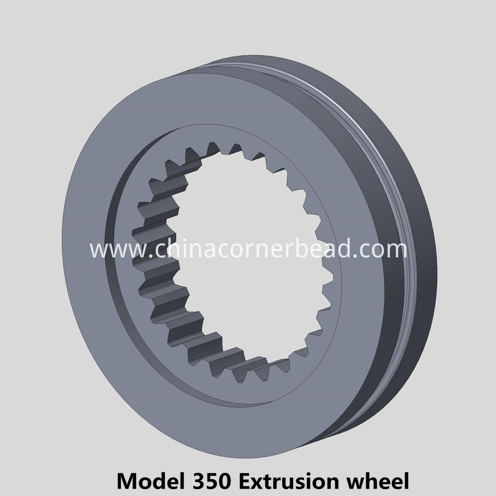 Yajue 350 Extrusion wheel