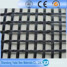 Black Biaxial PP Plastic Geogrid