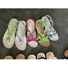 Flip Flops Sandal Slipper Flat Femmes Hot Espadrilles Chaussures Pas Cher