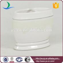 YSb40098-01-th simple y elegante titular de cepillo de dientes de cerámica de baño