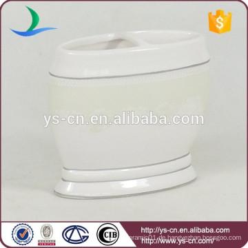YSb40098-01-th einfache und elegante keramische Bad Zahnbürstenhalter