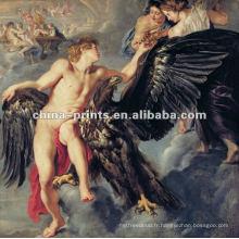 Peinture à l'huile classique à nu