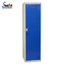 New design single door steel closet wardrobe for sale