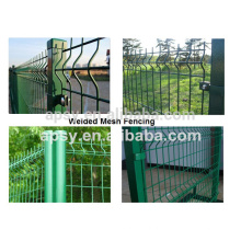 Горячее надувательство вспомогательное оборудование загородки проволочной сетки забор и забор пост