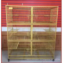 Beliebte Draht Cat Cage Pet Cat Cage für Verkauf