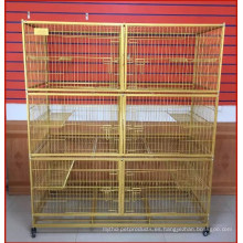 Alambre popular Cat Cage Pet Cat Cage en venta
