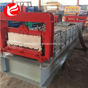 Single Layer Mobil fender Mesin Roll Forming Membuat