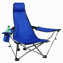 Chaise pliante de camping en gros avec repose-pieds (SP-114)