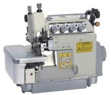 Máquina de costura Overlock alimentação superior e inferior