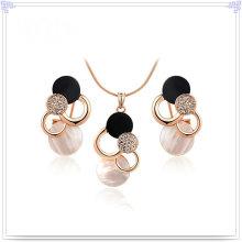 Crystal Jewelry Accessoires de mode Ensembles de bijoux en alliage (AJS115)