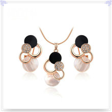 Crystal Jewelry Fashion Accessories Alloy Jewelry Sets (AJS115)