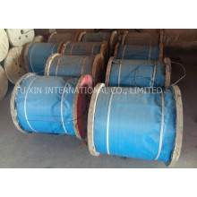 Ungalvanized Steel Wire Rope for Elevator, Engineering Works