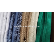 shandong factory textile 100% cotton twill fabric 21x21 108x58,20x20 108x58 cotton twill