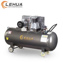 Compresor de aire de bajo ruido 5.5kw 7.5hp tipo pistón de 500 litros