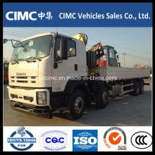 Grúa montada sobre camión / camión montada en grúa Isuzu