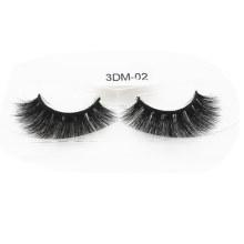 3D Mink Eyelashes Hand Made 100% Fur Material Eyelash 3dm-02
