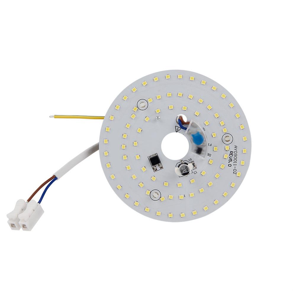 220V High lumen 9W LED ceiling light module front