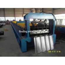 plataforma do metal perfil/metal convés perfil máquinas fabricante/convés pavimento