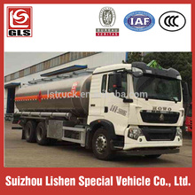 20000L 6 X 4 camion citerne HOWO camion huile
