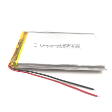 1260100 3.7V 9500mah rechargeable lithium polymer battery
