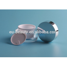 Oval frasco acrílico cosméticos 15g