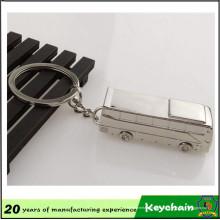 Vente chaude véhicule Bus porte-clés avec Logo Laser