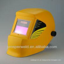 Capacete de soldagem escurecimento automático WH4400yellow