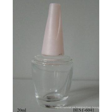 botella de esmalte de uñas con tapa roscada