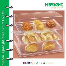 Подставка для акриловой посуды с выдвижными ящиками