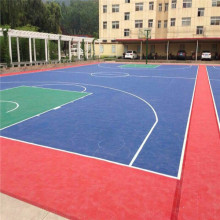 Modular PP Interlocking Basketball Flooring