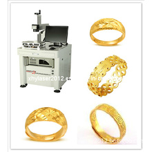 Gold Ring Laser Engraving Machine for Fiber 10W/20W