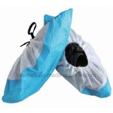 Couvercle de chaussure en plastique jetable antipoussière