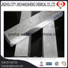 Lingot de magnésium 99,9% Min Metallurgy Grade
