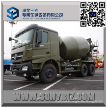 Beiben 9 Cbm Military Mixer Truck with Mercedes Benz Technology