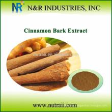 Natural y puro de corteza de canela en polvo o extracto de corteza de canela (cassia canela)