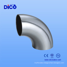 ANSI B16.9 304/304L/316/316L/321 Sanitary Pipe Fittings