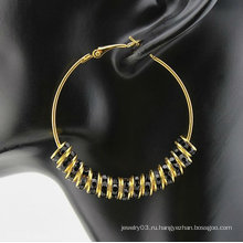 Ювелирные изделия способа вися серьга конструируют сформированные серьги типа кольца