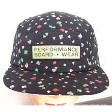 Heavy cepillado algodón de sarga conjunta bordado deportivo gorra de béisbol