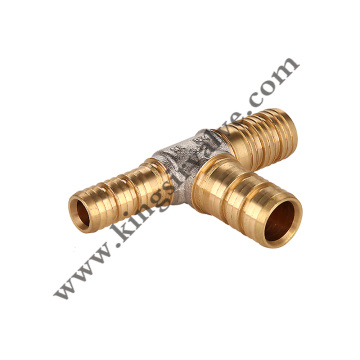 Tee Brass Pipe fitting