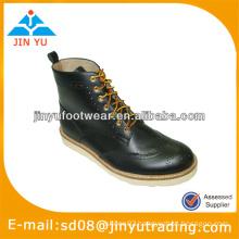 Most popular men leather combat boots