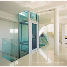 XIWEI Hairline Stainless Black Titanizing Home Elevator