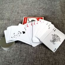 Custom 100% Plastic Durable Waterproof Playing Cards