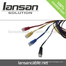 Flexible Patch Cable Pass Fluke Test pour CAT6 UTP BC