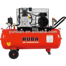 italien kolbenriemenbetriebener luftkompressor 2hp