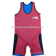 2015 Custom Men′s Lycra Wrestling Singlet