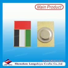 Прямая связь с розничной торговлей Эмаль Pin Знак с магнитом
